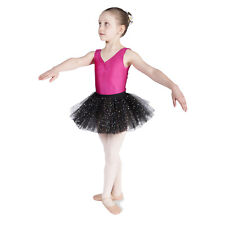 Sparkly Sequin BLACK BALLET TUTU Skirt Dance Tutu Girls & Ladies Sizes