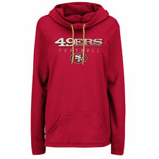 Majestic San Francisco 49ers Women's Scarlet Speed Fly Pullover Hoodie