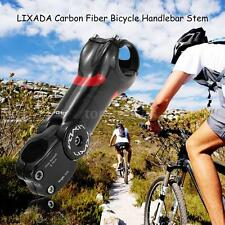 Carbon Fiber MTB Bicycle Bike Handlebar Stem 90/100/110/120/130mm 31.8mm Y4O1