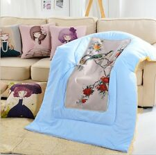 Baby Home Sofa Decor printed Square Linen Throw Pillows PP cotton Quilt Cushions