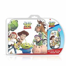 NEW! Disney TP8002 Gift Pack USB Optical Mouse and Mouse Mat Pad Toy Story