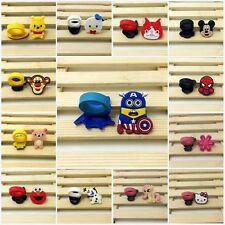 2pcs Cartoon Soft Colorful Rings for Children Girl Kids Party Favor DIY Gifts
