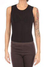 RICK OWENS LILIES women new original black knitted body made in italy Sz S