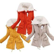 New Womens Lady Thicken Warm Winter Coat Hood Parka Overcoat Long Outwear Jacket
