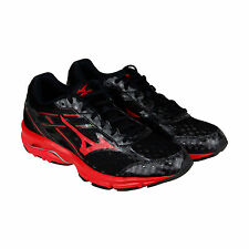 Mizuno Wave Unite 2 Mens Black Mesh Athletic Lace Up Running Shoes