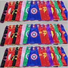 Superman Batman Spiderman Superhero Cape Supergirl Batgirl for kids (only cape)