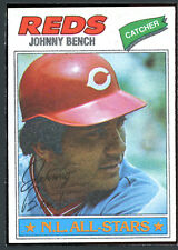1977 Topps #70 Johnny Bench AS EXMT 88799