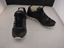 Reebok Men 9 Black Running Cross-Training Sneakers Lace Up Shoes 039501