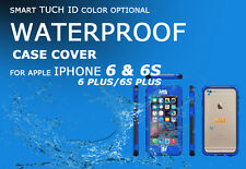 Touch ID TPU+PC Waterproof Dustproof Case Cover for Apple Iphone 6/6S/6S Plus