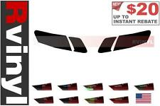 Rtint Tail Light Tint Precut Smoked Film Covers for Toyota Camry 2007-2011