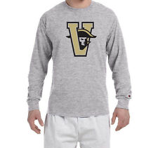 Vanderbilt Commodores Throwback Champion LONG SLEEVE T-Shirt Tagless T Shirt