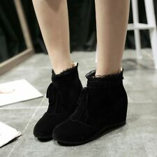 Latest Women's Casual Shoes Round Toe Tassel shoes Ankle Boots Ladies Shoes