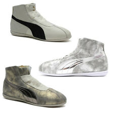 Puma Rihanna Collection Eskiva Mid Lo Metallic Womens Boots Trainers Leather 361