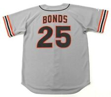 BARRY BONDS San Francisco Giants 1993 Majestic Cooperstown Away Baseball Jersey