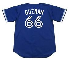 JUAN GUZMAN Toronto Blue Jays 1994 Majestic Throwback Baseball Jersey