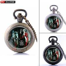 Nightmare Chain Pocket Antique Gift Watches Quartz Pendant Steampunk New Vintage