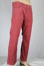 Polo Ralph Lauren Red Straight Fit Corduroy Pants NWT