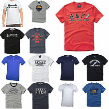 New Abercrombie By Hollister Mens Muscle Fit Tee T-Shirt Size S M L XL XXL Nwt