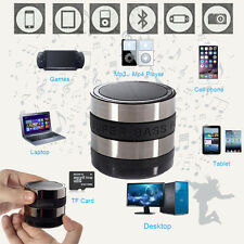 Portable FM Wireless Bluetooth Speaker Bass Stereo TF Card For iPhone Laptop PC