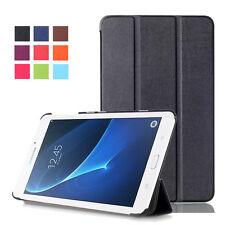 Book Ultra Slim Leather Folio Protective Cover Stand Case For Samsung Galaxy Tab
