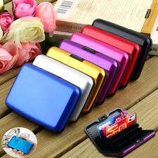New Waterproof ID Credit Card Wallet Holder Aluminum Metal Pocket Case