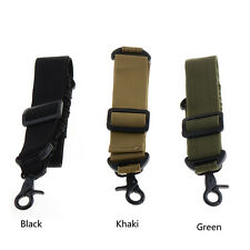 New AR 223 Rifle Single One Point Tactical Adjustable Bungee Gun Sling HYSG