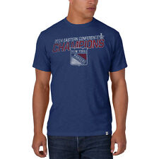 New York Rangers 47 Brand 2014 Eastern Conference Champions Royal Blue T-Shirt