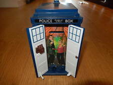 DR WHO ~ Doctor Who ~ TARDIS Money BOX Bank 9th DOCTOR & ROSE Lights & SOUNDS
