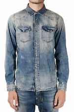 DIESEL Man Vintage Denim SONORA Shirt New with tags and Original
