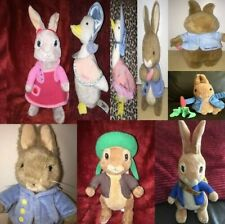 Beatrix Potter Animals Soft Toy & Others  Peter Rabbit Jemima Puddleduck