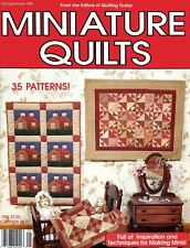 Miniature Quilts Quilting Today Spring/Summer 1990 ~ 35 miniature quilt patterns