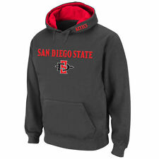Stadium Athletic San Diego State Aztecs Charcoal Arch & Logo Pullover Hoodie