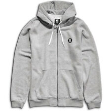 Etnies E Base Mens Hoody Zip - Grey Heather All Sizes