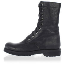 DIESEL Man Leather D-KOMTOP Ankle Boots New with Tags and Original
