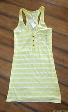OLD NAVY ~ NEW! NWT Size XS S or Medium ~ Tunic Length Striped RACERBACK Tank