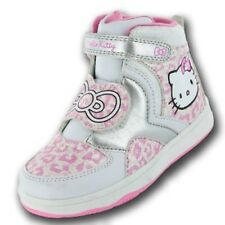 "Girls HELLO KITTY ""Himalayan"" Hi-Top Trainers Sizes 8 - 2 *NEW*"