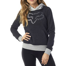 Fox Racing Phoenix Womens Hoody - Heather Black All Sizes