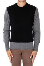 LOW BRAND New Men Grey Blue Black Wool Cashmere Sweater Jumper Made Italy NWT