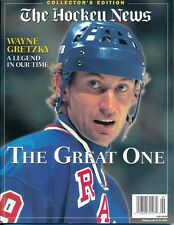 WAYNE GRETZKY A LEGEND IN OUR TIME THE HOCKEY NEWS COLLECTOR'S EDITION