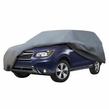 SUV Van Cover Water Snow Rain Dust Proof  3 Layer Car Cover Outdoor Indoor Use