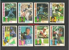 1984 Topps Traded Baseball Team Sets ** Pick Your Team Set **