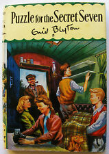 ENID BLYTON - Puzzle for the Secret Seven & DJ -  6th Imp 1969 - Priced at 8/-