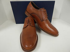 Cole Haan Williams Plain Toe C12204 British Tan Leather 5 Eyelet Oxford Mens New