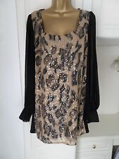 GORGEOUS TUNIC BY JULIEN MACDONALD IN VG CON SIZE UK 18 BUST 44