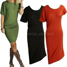 Sexy Womens Summer Dress Short Sleeve Mini Dress Party Nightclub Cocktail Y7A7