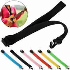 Adjustable Nylon Ukulele Strap Neck Belt For Ukulele Guitar Musical Instruments