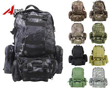 Tactical Military Molle Assault Backpack Outdoor Sports Hiking Camping Pouch Bag