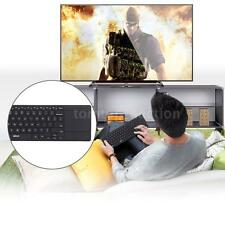 Kkmoon 4 Languages Layout Wireless Multimedia Keyboard with Touchpad and Backlit