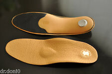 LUXURY Footbeds Orthopaedic Insoles Leather Leather soles Soes insoles Footbed