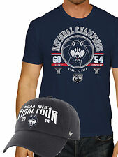 Connecticut UConn Huskies 2014 College Basketball Champions Shirt Hat Pack